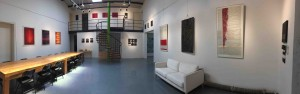 installation of exhibition at 318 international art village,beijing 2016
