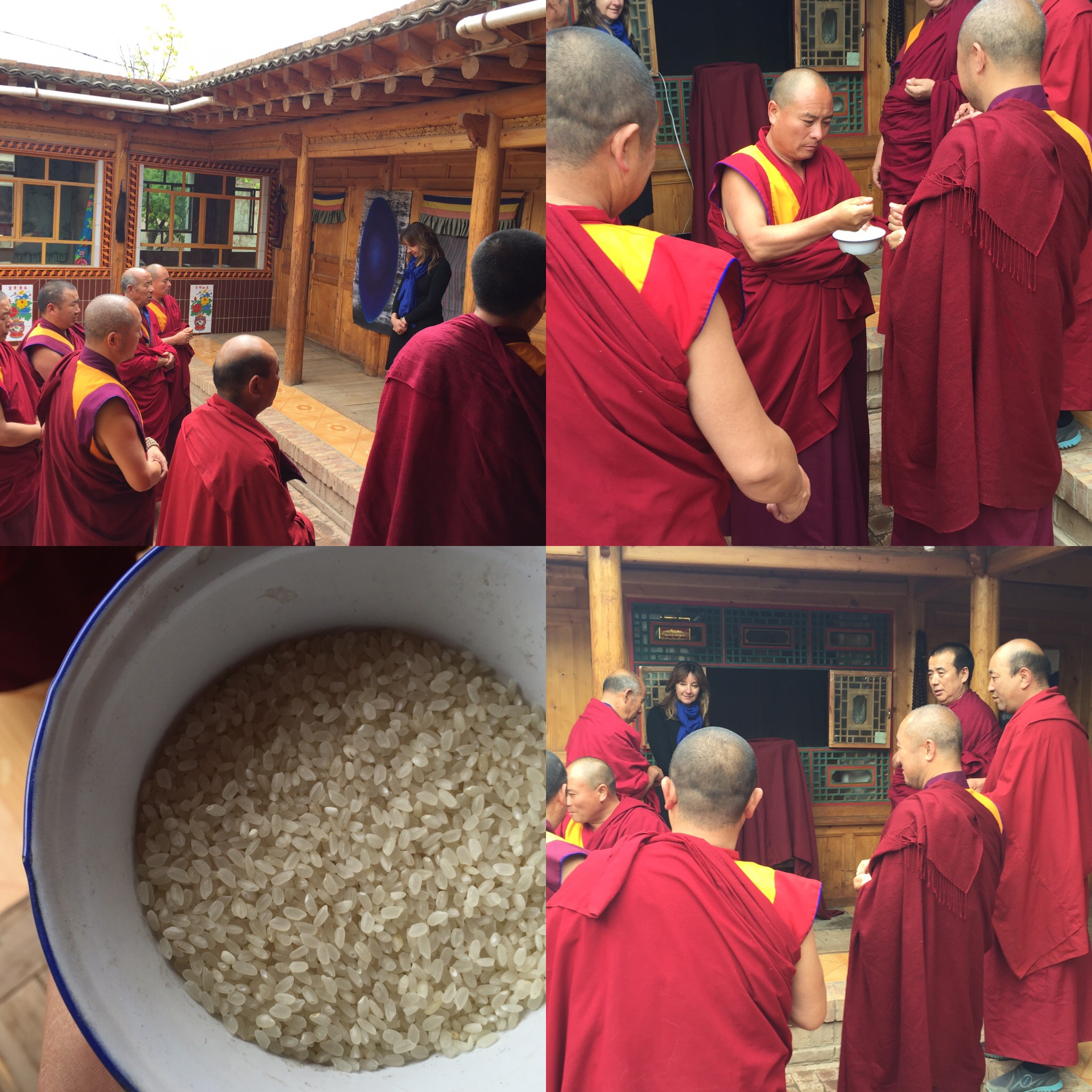4-installing-my-work-in-temple-grounds-and-receiving-a-blessing-ceremony-in-wutun-monastery-tongran